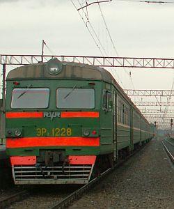 электричка в Сосново