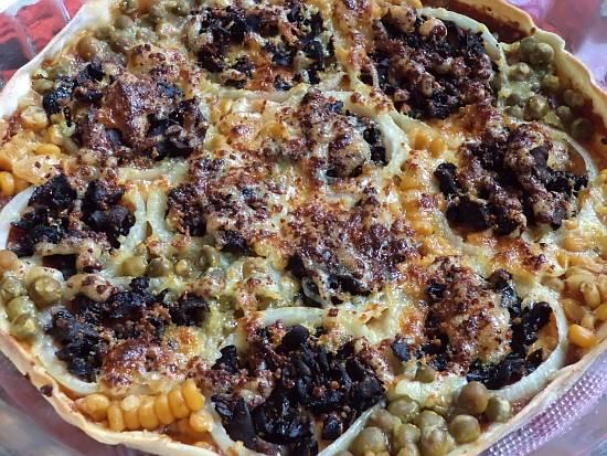 Грибные рецепты пицца с сушеными грибами